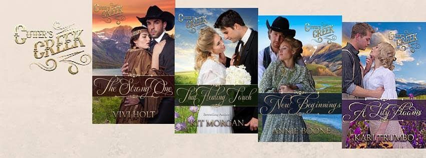 Check out all the books in the Cutter's Creek Series.