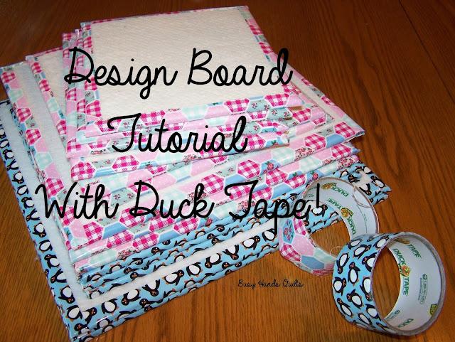 Busy Hands Quilts: Quilt Block Design Board Tutorial {The Duck ... : quilting design board - Adamdwight.com