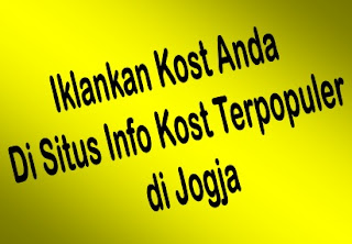iklan kost 2013
