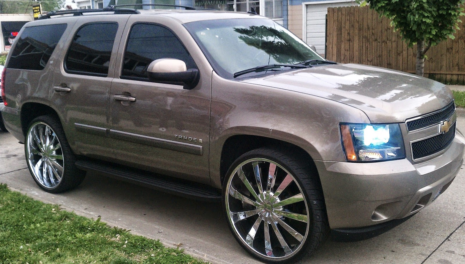 Chevrolet tahoe tuned cars car tuning
