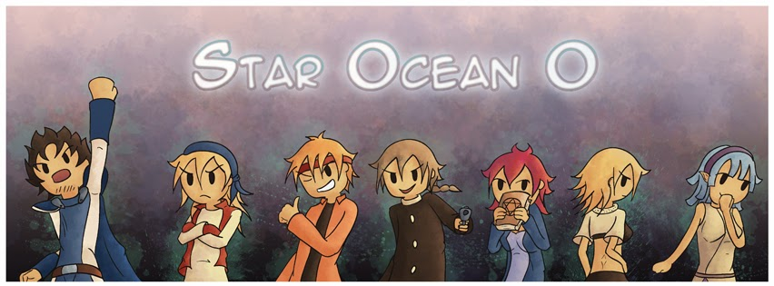 Artwork Star Ocean Adventure time style