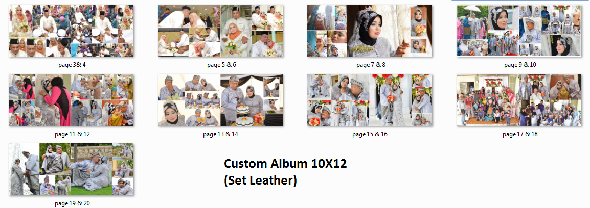 harga, pakej custom album, pakej jurugambar, pakej fotografi, bayaran jurugambar, design custom album, mockup custom album, harga printing album perkahwinan