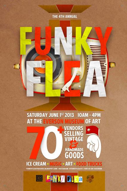 funky flea, everson museum, flax clothing, flea market, syracuse, ny