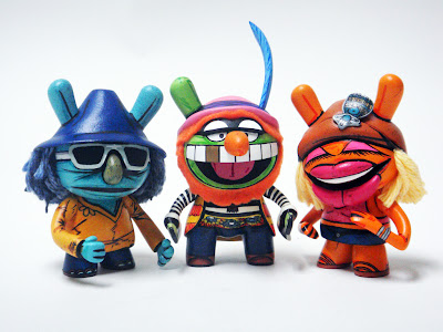 The Electric Mayhem CustomDunny Set Part I by Nikejerk - Zoot, Dr. Teeth &amp; Janice
