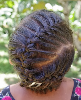 Braids hairstyles for super long hair november 2013 girl hairstyle to share with you my little friend came to class with a zig zag french braid i think somebody is going to get hairclips for christmas ccuart Images