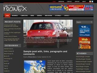 Bionex Wordpress Template