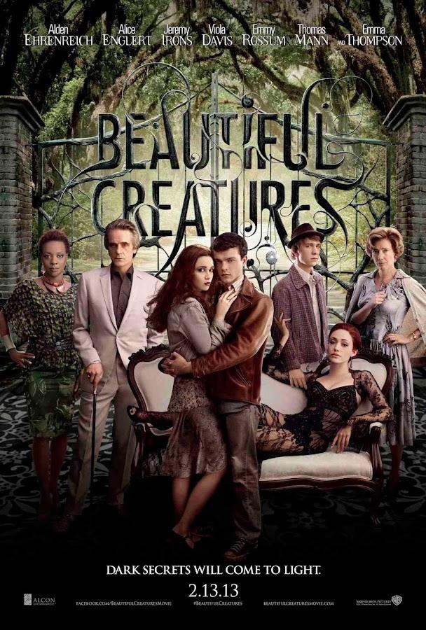ตัวอย่างหนังใหม่ : Beautiful Creatures (แม่มดแคสเตอร์) ซับไทย poster