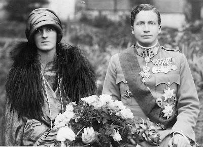 Archiduc Joseph Franz d'Autriche et princesse Anna Monika de Saxe