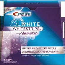 10 CREST 3D Professional Effects White Strips Teeth Whitening 5 Day Supply Pro