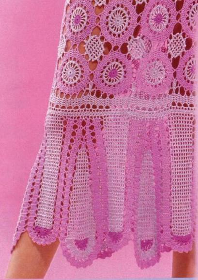 Vestido De Tejido Crochet