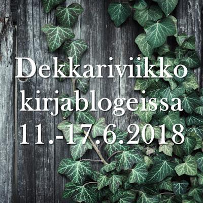 Dekkariviikko kirjablogeissa 2018