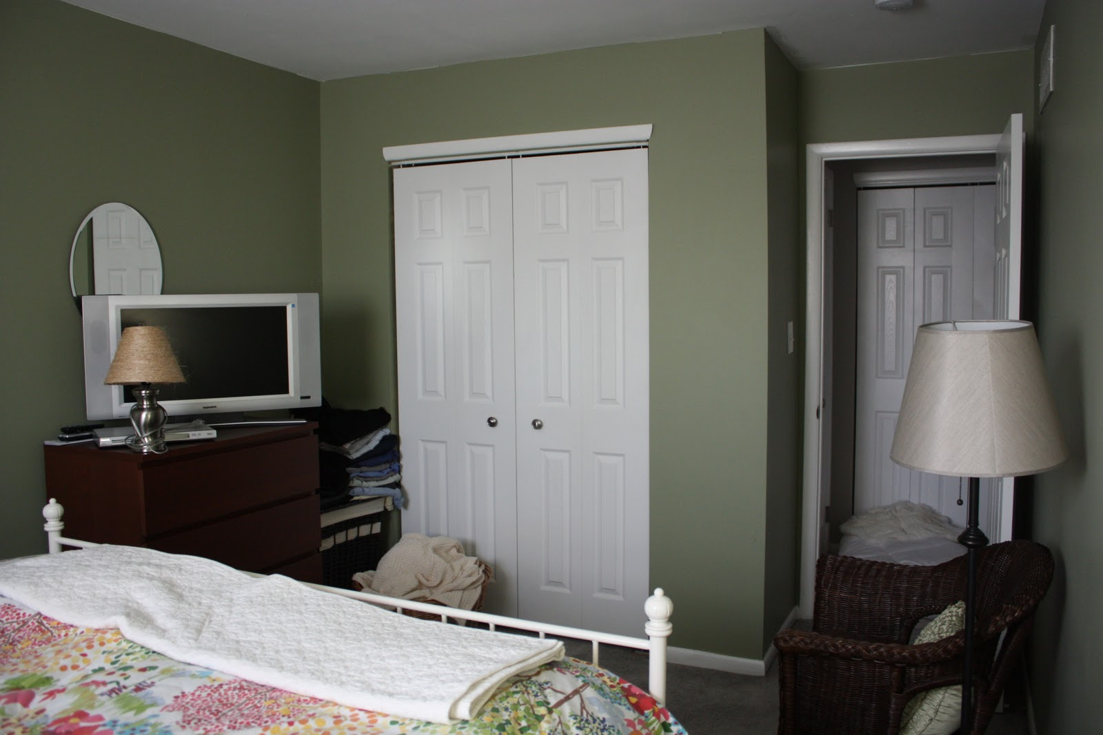 A Simple Kind of Life Guest Room Color Scheme