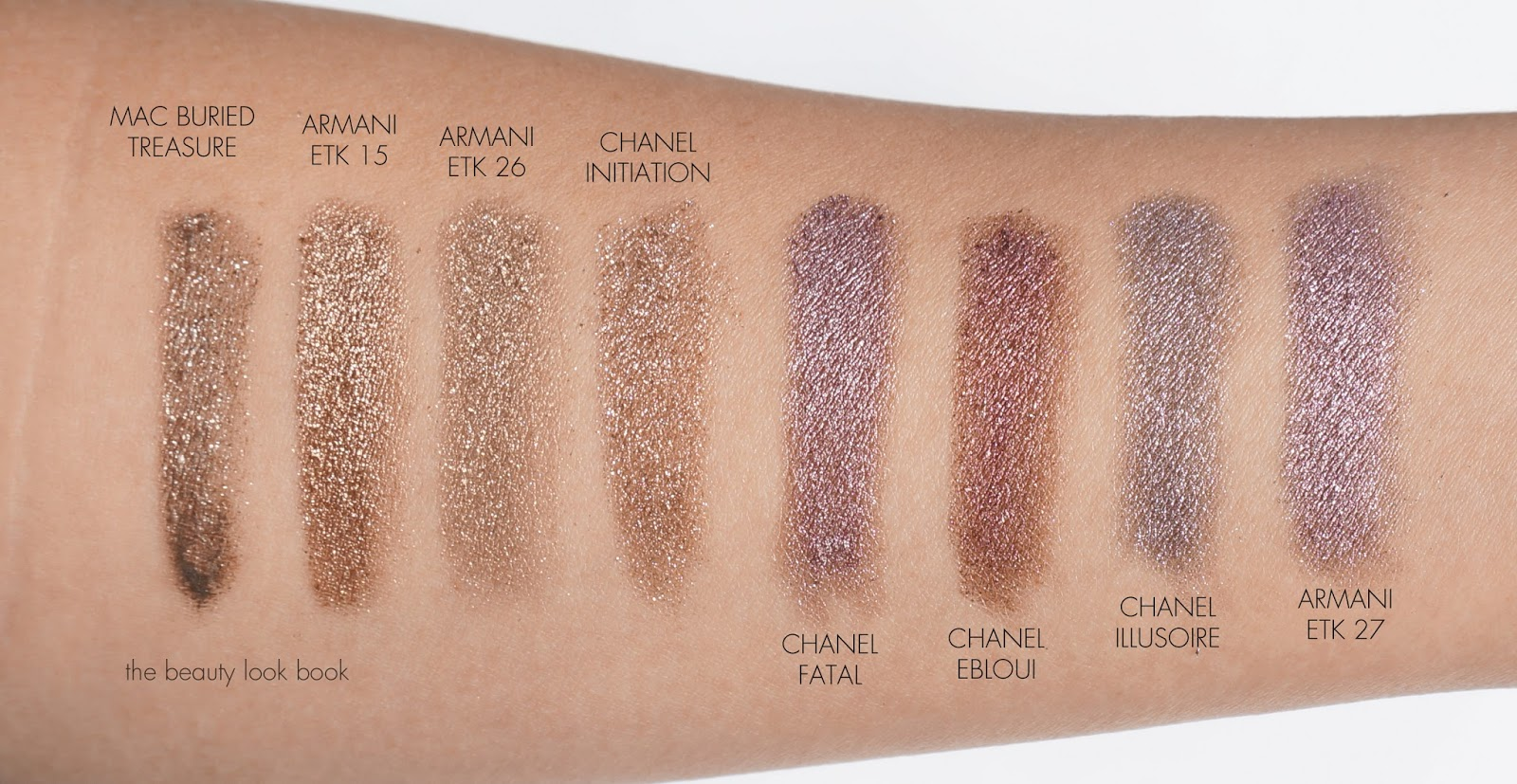 Chanel Illusion D'ombre Fatal And Initiation  Holiday 2013