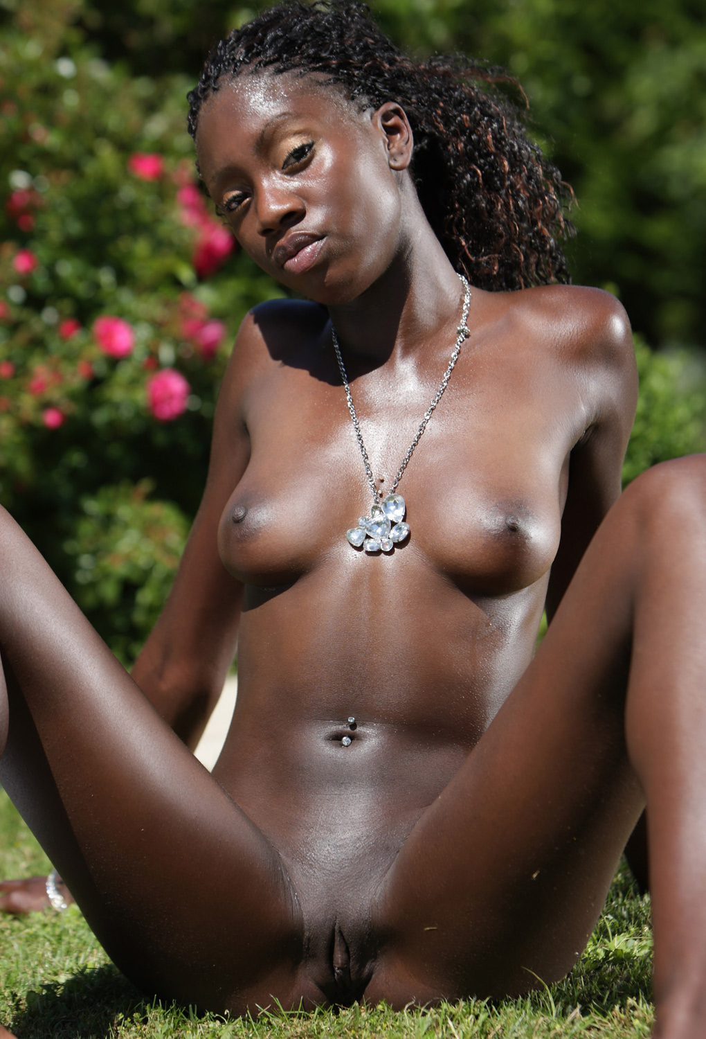 hot naked africans boobs