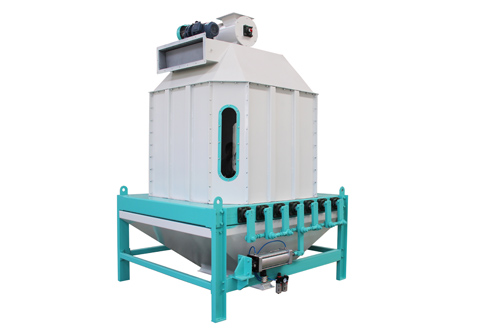 Tipping Counterflow Cooler Is Used To Cool A Variety Of Materials Such As Pellets Extruded Expansion Pressure Chip Material Powder