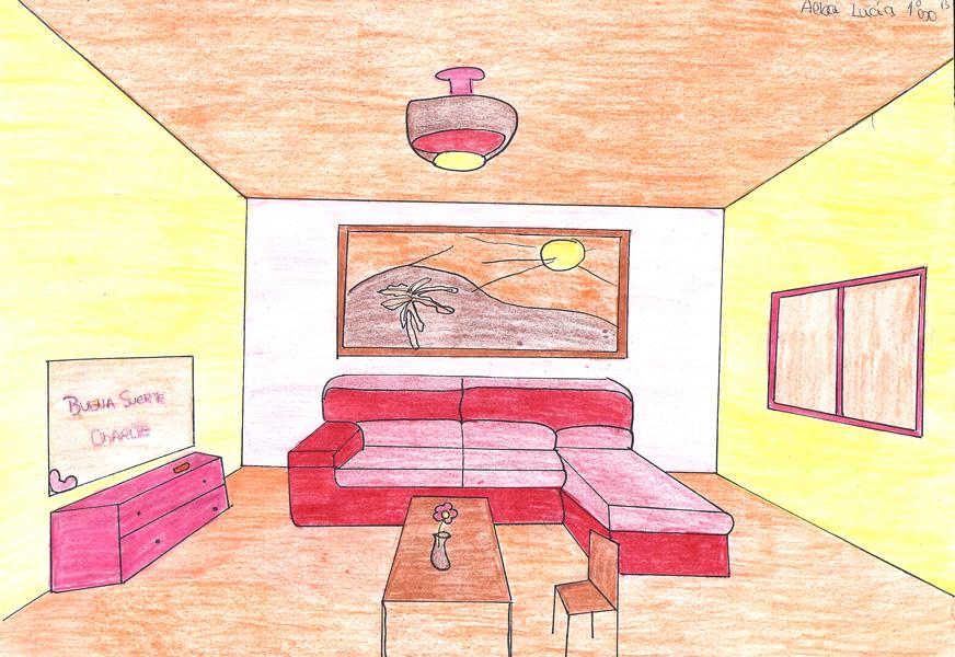 Pl sticamente un blog habitaciones en c nica - Habitacion en perspectiva conica ...
