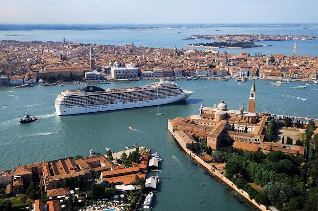 Un crucero por el Adriático, Venecia