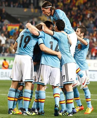 selección española de fútbol segunda equipación azul Eurocopa 2012