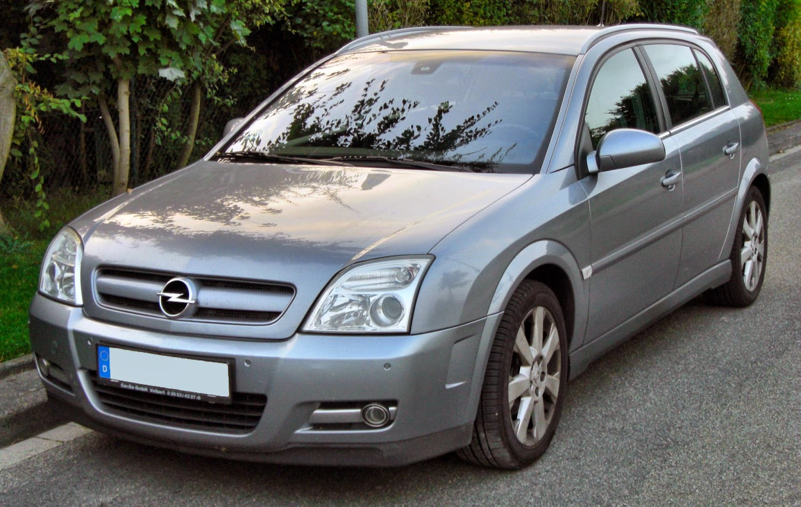 Opel Signum front