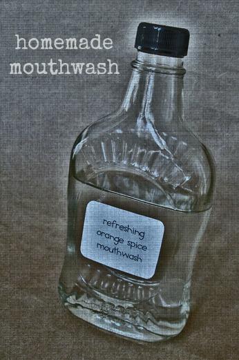 minty mouthwash recipe