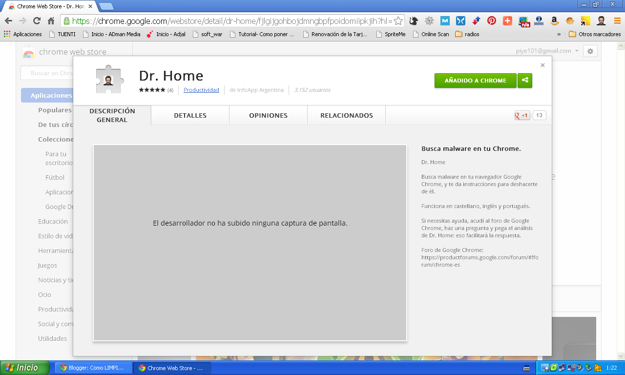Extension Chrome Dr.Home