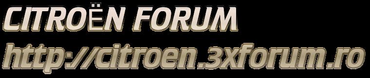 CITROEN 3X FORUM