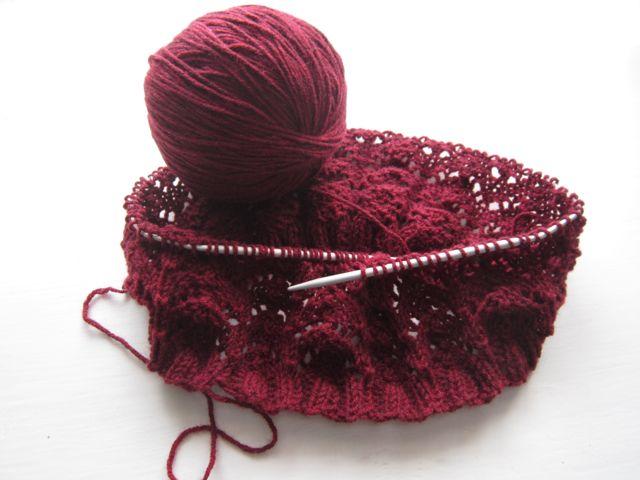 Gillberga Soap: Schal stricken ganz einfach