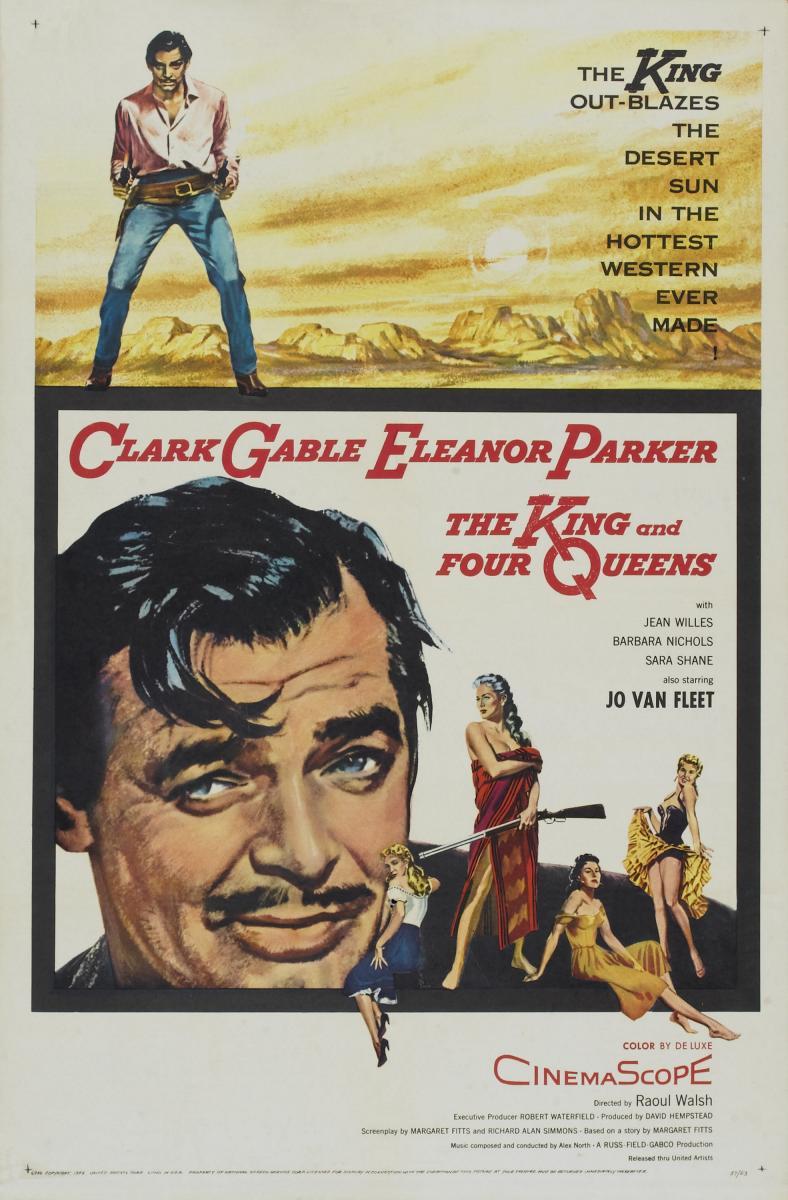 Un Rey para Cuatro Reinas (1956) Clark Gable