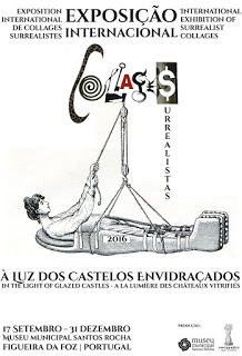 EXPOSITION INTERNATIONALE DE COLLAGES SURRÉALISTES «A LA LUZ DE LOS CASTILLOS VITRIFICADOS»