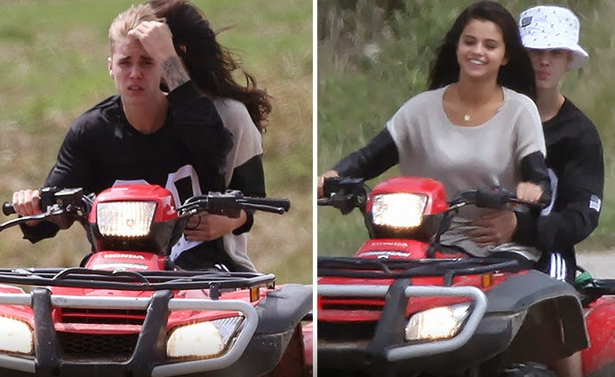 justin bieber crashed atv