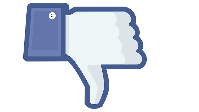 Dislike no facebook