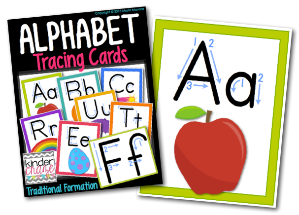 help students master the alphabet with tracing cards