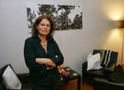 Helga König im Gespräch mit Andrea Bräu