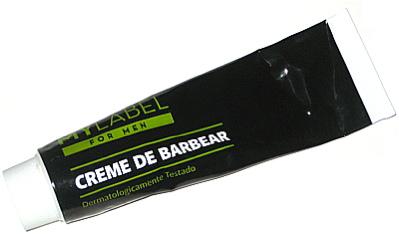 Crème à raser, Mylabel, creme de barbear