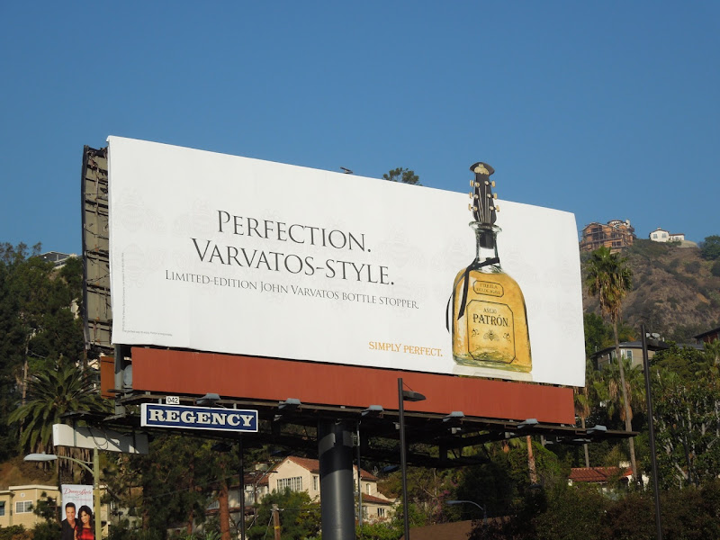 Patron Tequila John Varvatos special edition billboard