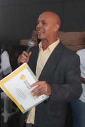 Agente Federal Fabio Domingos palestra no lançamento da cartilha Vida de Criança