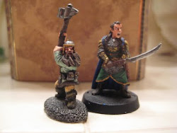 28mm Lord Of The Rings Miniatures I painted.