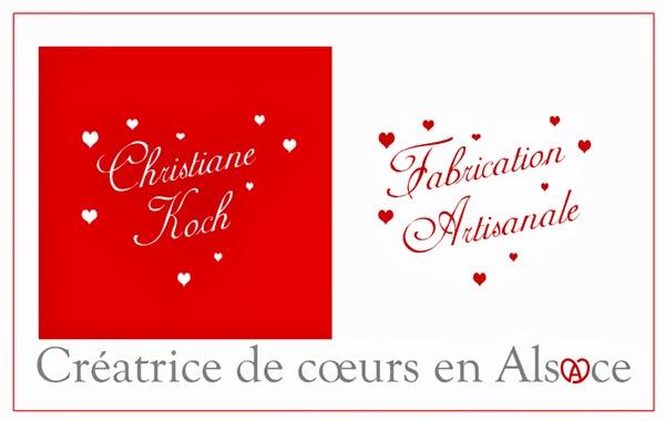 Christiane KOCH Créatrice de coeurs en Alsace