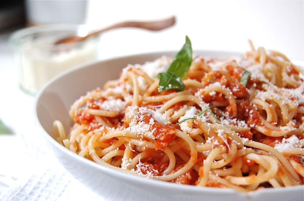 Recette de spaghetti à la bolognaise végétarienne