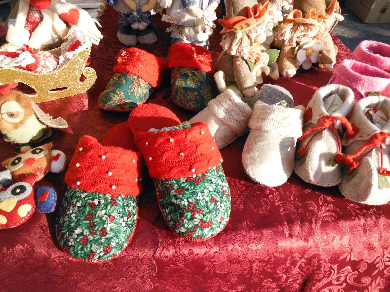 Magie di cera e di stoffa novembre 2014 for Pantofole natalizie