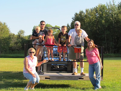 family fun on a farm