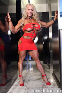 Pumpitups Female Muscle: Aleesha Young