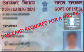 NRI Pan Card appplication form