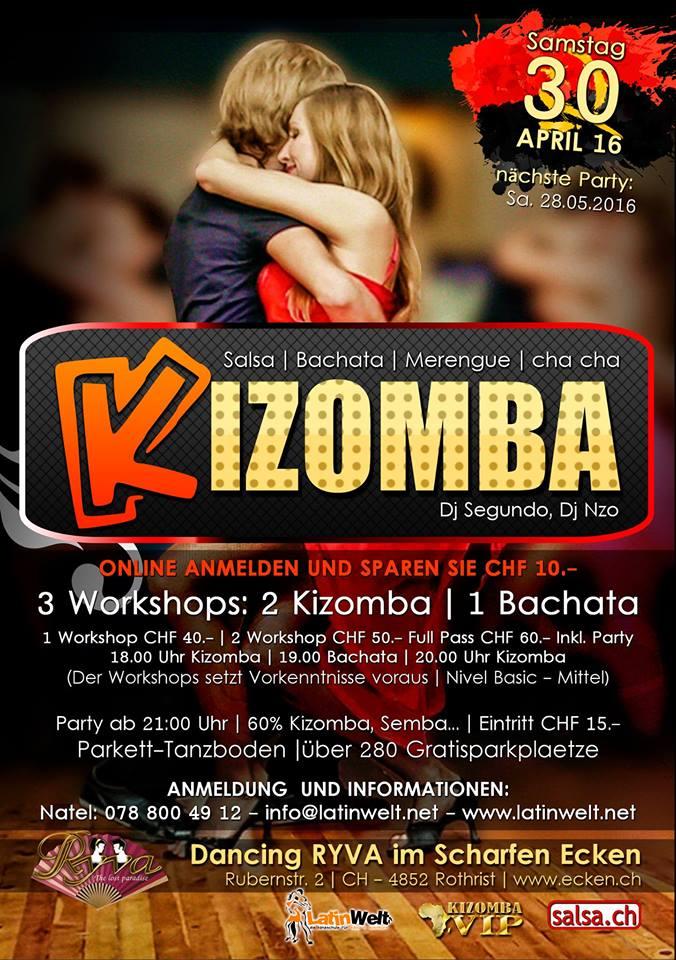 KIZOMBA PARTY 30.04.2016