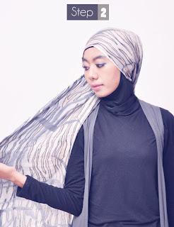 Hijab Praktis tanpa Peniti Nan Cantik