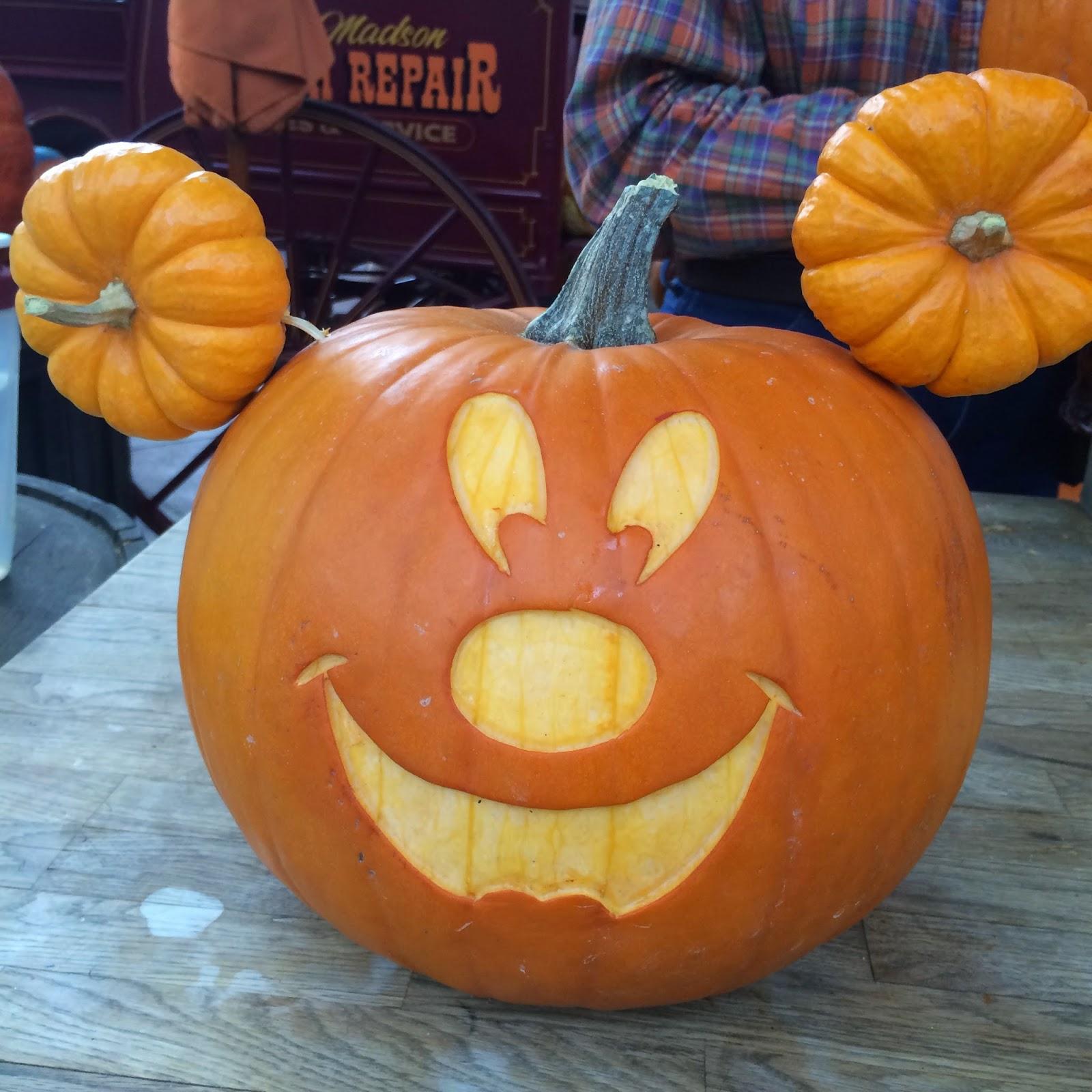 Carve pumpkin faces
