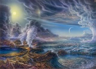 origen de la vida, tierra primitiva