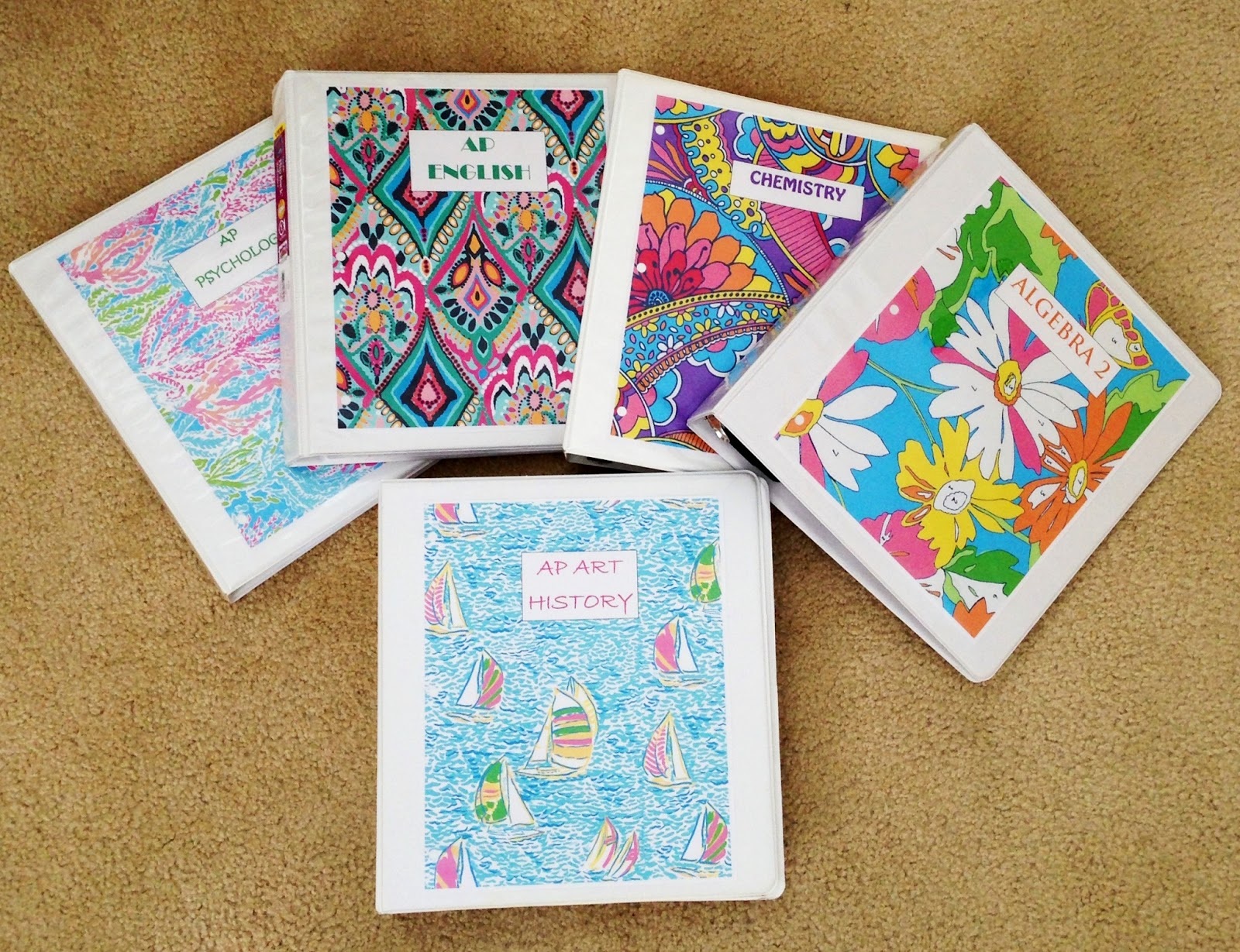 All things natalie christa lilly pulitzer binder covers