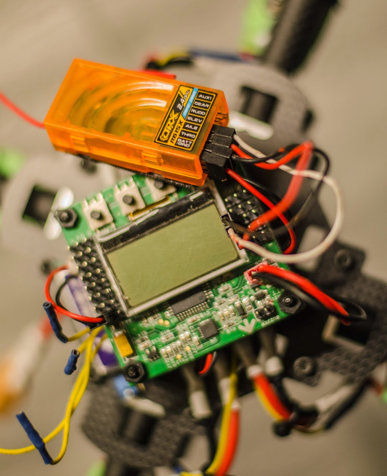 Kk2 1 Wiring Diagram Library Tricopter Kk Board Elevation On The Rx Receiver Corresponds With Pin2 And Rudder Sits Pin 4