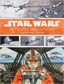 http://www.amazon.com/Star-Wars-Storyboards-Original-Trilogy/dp/1419707744/ref=sr_1_1?ie=UTF8&qid=1399940657&sr=8-1&keywords=star+wars+storyboards